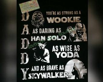 Daddy star wars shirt