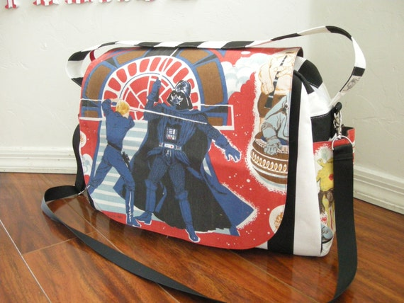 star wars diaper bag shoulder and messenger bag. Black Bedroom Furniture Sets. Home Design Ideas