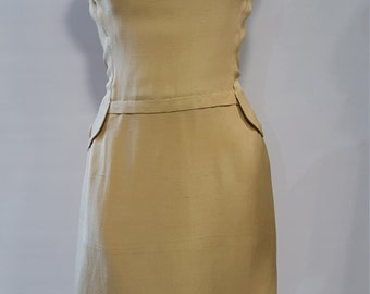 1950's Pat Sandler Wiggle Dress