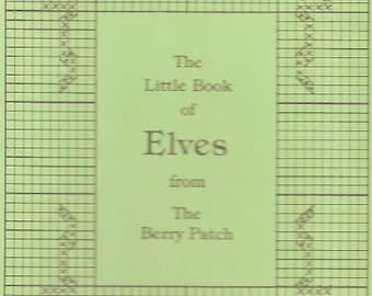 Berry Patch Little Book of Elves Counted Cross Stitch