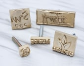 Custom leather stamp - compatiable with soldering iron branding iron