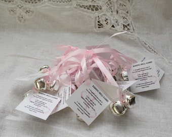 wedding kissing bells wedding bell favor personalized seed