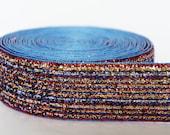 "5Yd Iridescent Stripe 1"" Sparkle Ribbon Craft"