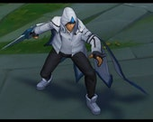 Samsung white talon with base- League of Legends