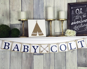 Baby Name Banner, Baby Shower Banner, Name banner, Baby Shower, Baby Shower Decor, nursery Decor, Baby banner, Custom Banner, Personalized