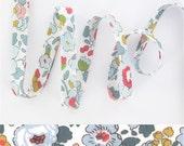 1 yard - Liberty of London Tana Lawn fabric, bias tape - print: Betsy P