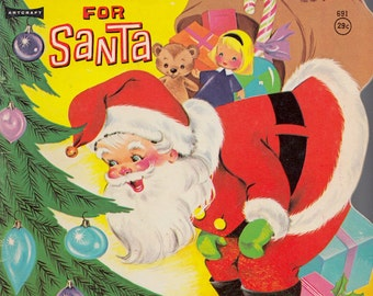 A Surprise for Santa by Florence Parry Heide, illustrated by Lisa