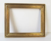 Classic Finished Corner Antique Gold over Gesso Picture Frame c.1910-1920 from TransferofTreasures