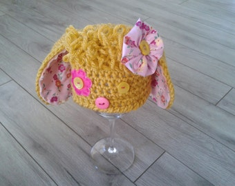 Newborn Girl Photo Prop,Baby  hand knitted Hat,Hand knitted girl  hat