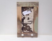 19th Century Reclaimed Wood Magnet Board and Jewelry Organizer / Key Holder