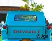 Antique Truck, Photograph, Instant Download