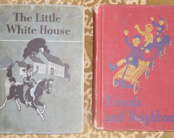 Vintage Books - Canadian Readers, Friends and Neighbours, Published by Gage, The Little White House, Published by Ginn, Undated