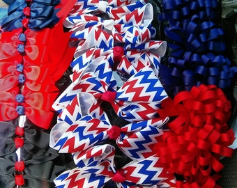 Patriotic Bows 2 for 5