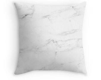 Marble Pillow Etsy