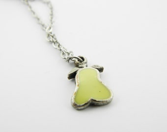 Pear Charm Necklace