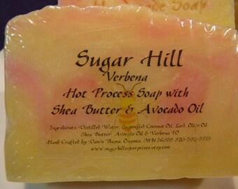 Sugar Hill Verbena Hot Process Soap