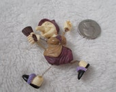 Vintage OLD HAG -Kitchen Witch Pin-P4110