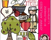 Johnny Appleseed clip art