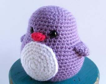 Puddles the Baby Crochet Penguin