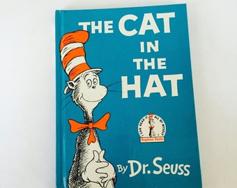 Cat in the Hat Book / Vintage Dr. Seuss Cat in the Hat Hardcover Very Good condition