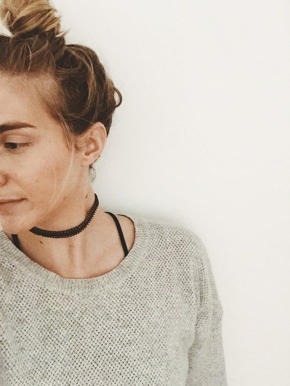 Alanis Choker - Antique Brass Chainmaille