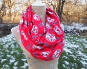 LAST ONE!  Boston Red Sox MLB Baseball GameDay Infinity Scarf 10x70 double loop