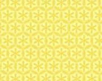 Yellow Bohemian Festival Fabric by Riley Blake