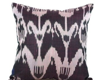 19 x 20 Pillow Cover Ikat Pillow Cover Old Ikat Pillow Cover Throw Pillow Decorative Pillow FAST SHIPMENT with ups or fedex - 09147
