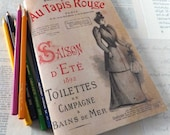 1892 PARIS CATALOG - Reproduction, 20+ Pages - Awesome Coloring Book Too!