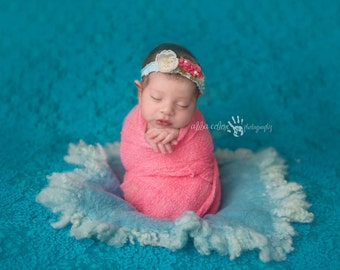 Bubblegum RTS Stretchy Soft Newborn Knit Wraps 80 colors to choose from, photography prop newborn prop wrap