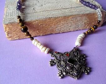 Traditional Lambani Necklace from India.