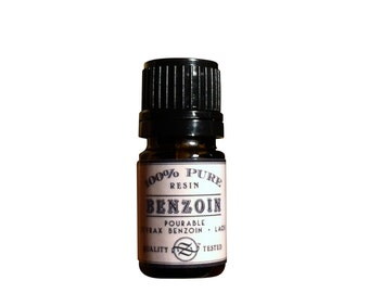 Benzoin Liquid Resin, Onchya, Styrax benzoin, Laos - 5 ml