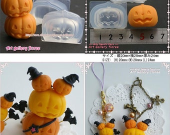 SALE Hallowen Mold for resin and clay (plus hat)