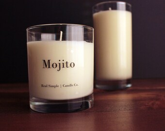 Mojito Soy Candle | 11 oz | 100% Natural