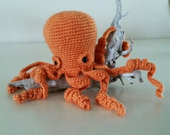 Olli Octopus Crochet PATTERN PDF - Amigurumi Octopus