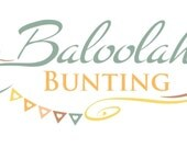 white bunting in lace design