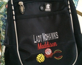 Monogrammed Ogio Backpack