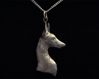 Ibizan Hound Necklace - Podenco Beezer Jewelry