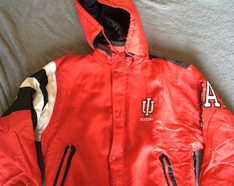 Vintage Indiana Hoosiers Zip Up Starter Jacket