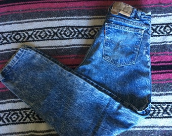 Vintage Levi's Brand Acid Wash Denim Jeans
