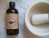 Geranium Patchouli Orange Bath, Body and Massage Oil. VEGAN.