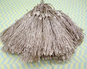 Wholesale 20pcs khaki tassels silk tassels satin tassels Jewelry tassels for decorating tassels
