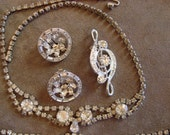 Vintage Rhinestone Destash Lot of Jewelry
