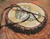 Ring Bearer Pillow - Wedding Ring Bearer - Ring Bearer - Rustic Ring Bearers - Wooden Ring Bearer - Wedding Ring Holder