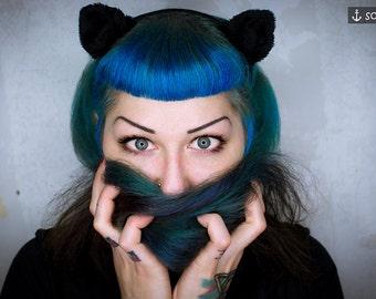 Hair Circlet *Black Cat* - Fascinator | Shooting Accessory