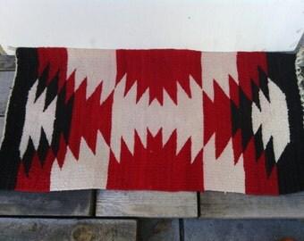 Navajo Wool Gallup Throw Saddle Blanket