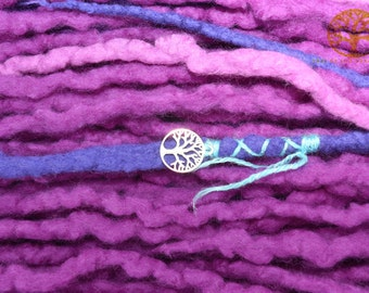 Wool dreadlocks 'Berry Blast'