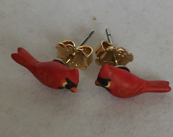 Red Robin earings