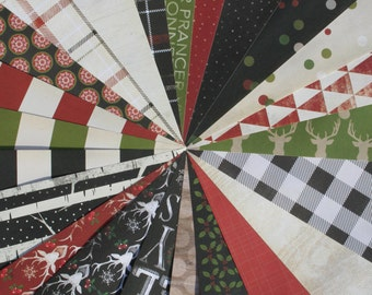 "Christmas Scrapbook Paper | 23 6x6"" Sheets | Christmas Paper | Holiday Scrapbook Paper | DESTASH"