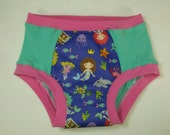 Mermaids with Mint Knit and Pink Trim Anibums Knit Underwear